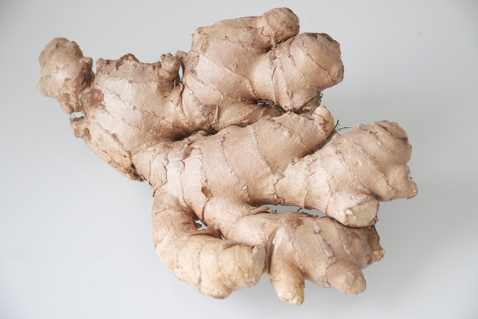 Top Five benefits of Ginger