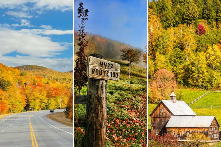 Vermont's Scenic Route 100