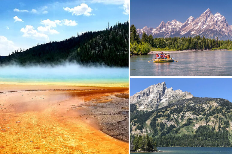 Yellowstone and the Tetons